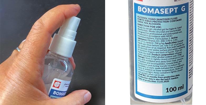 Corona desinfectiemiddel sprayflesje 100 ml